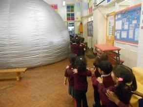 pre school planetarium show