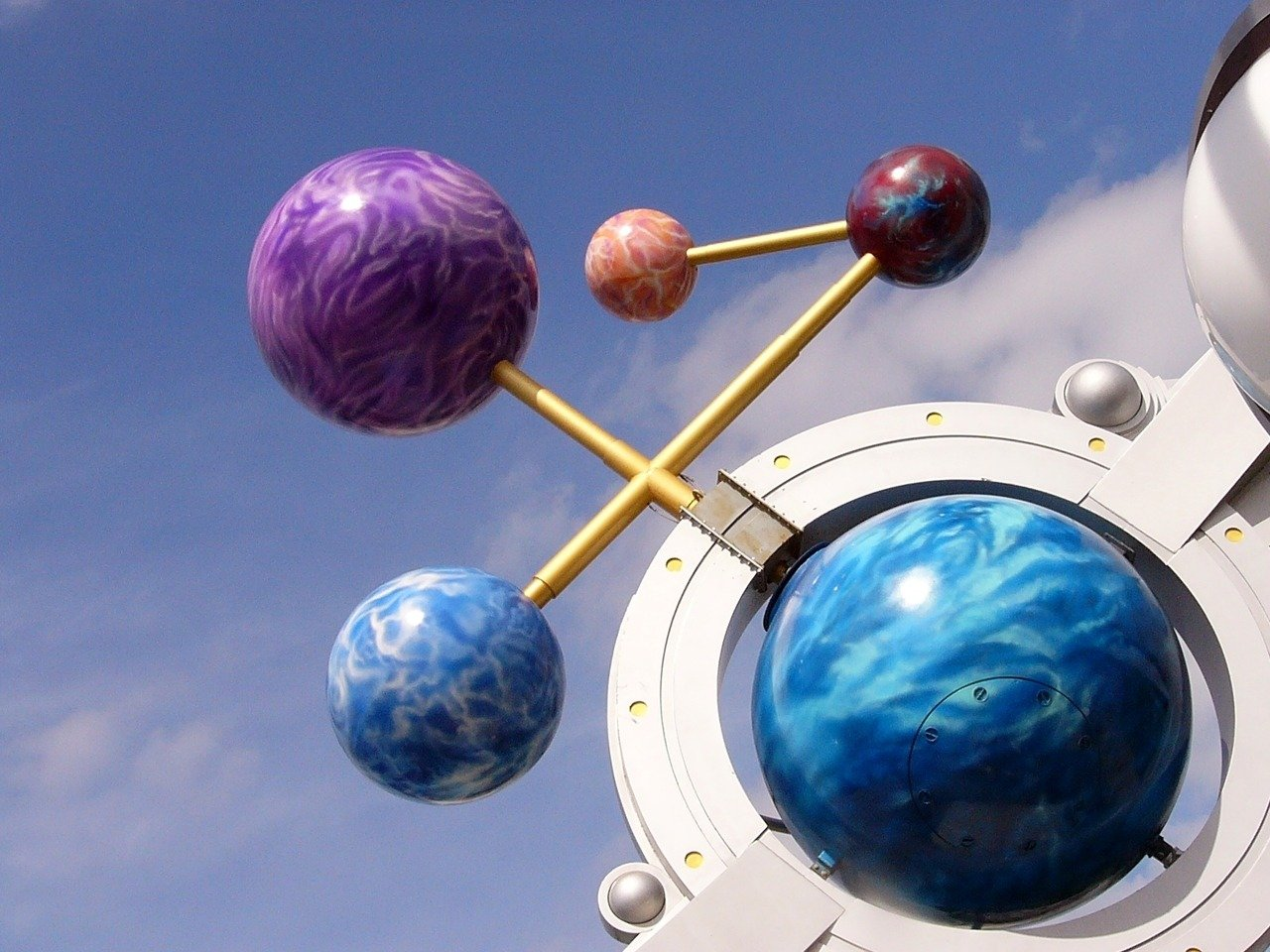 space maths: spheres in space
