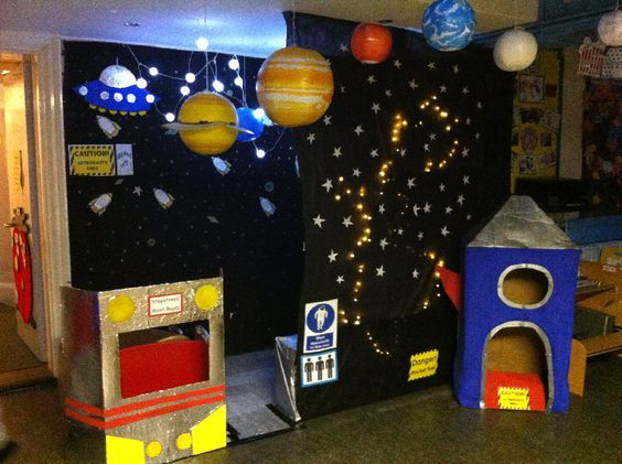 classroom space theme