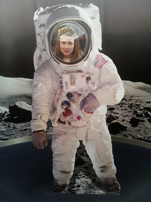 Our favourite May half term acrivity: learning how to be an astronaut