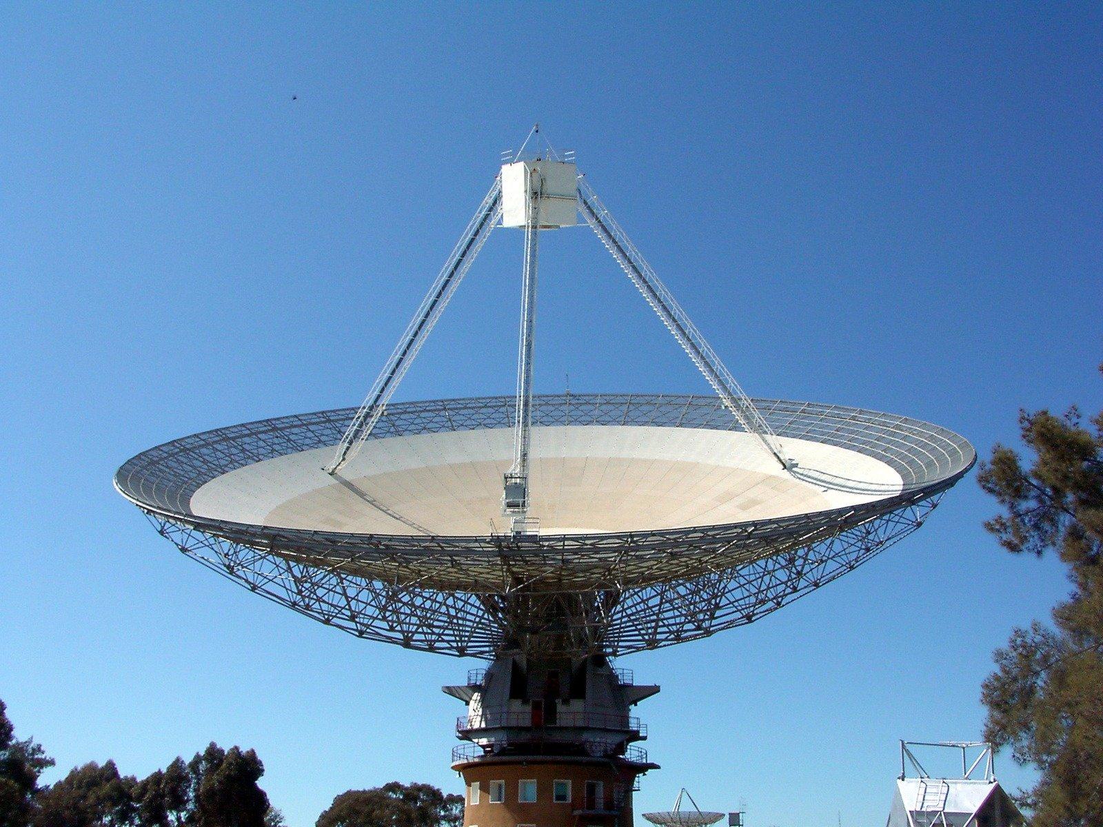One of the big single dish radio telescopes