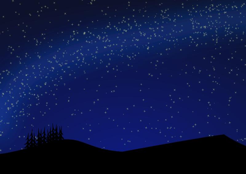 Meteor showers in December 2018