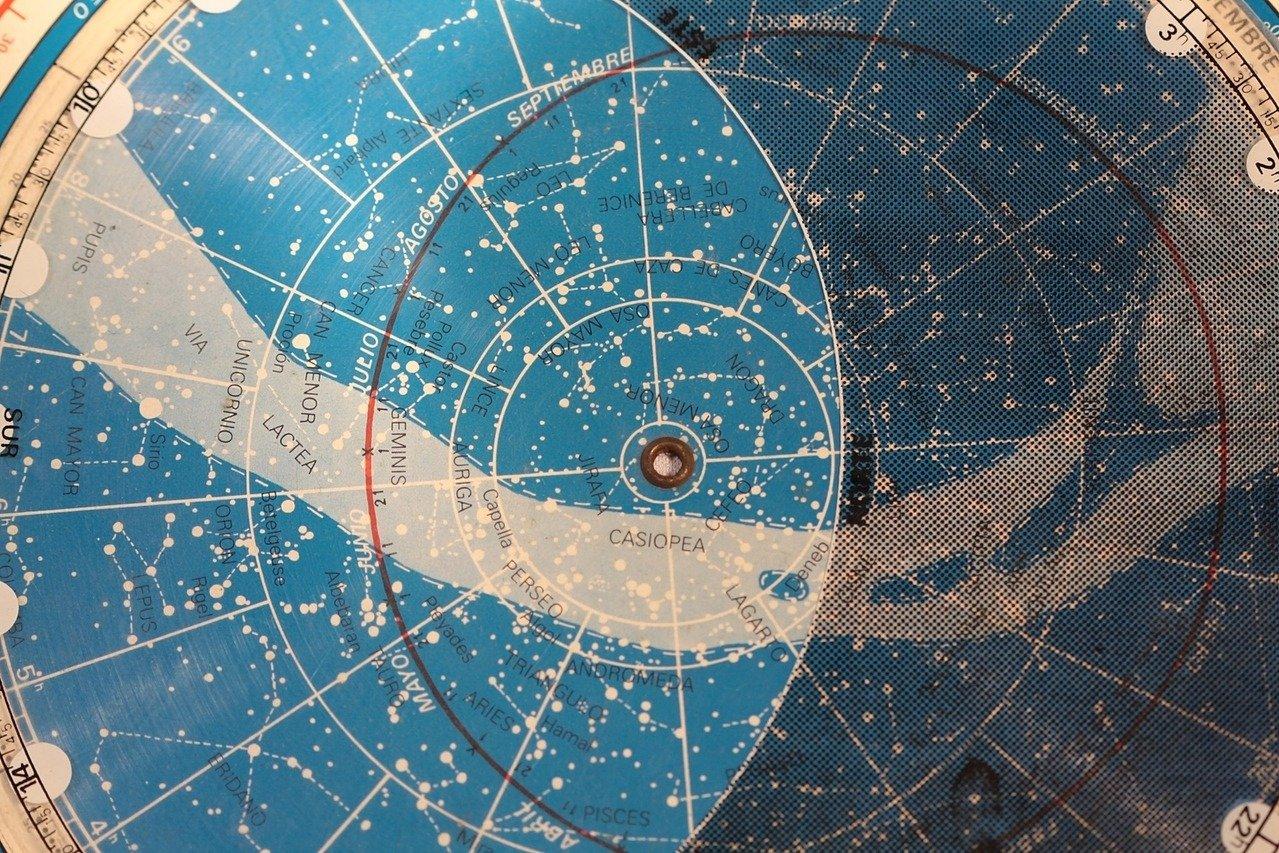 Triangulum Galaxy can be seen in the constellation Triangulum