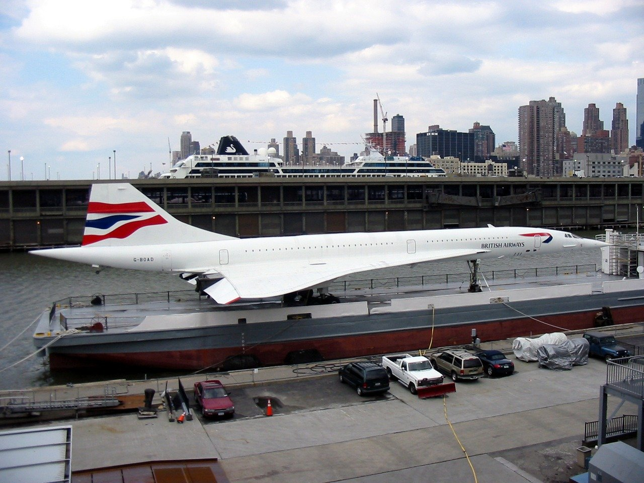 Concorde, passenger plane that could travel faster than the speed of sound