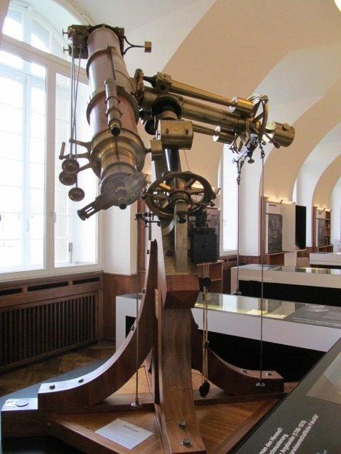 Bonner Heliometer from the Old Bonn Observatory