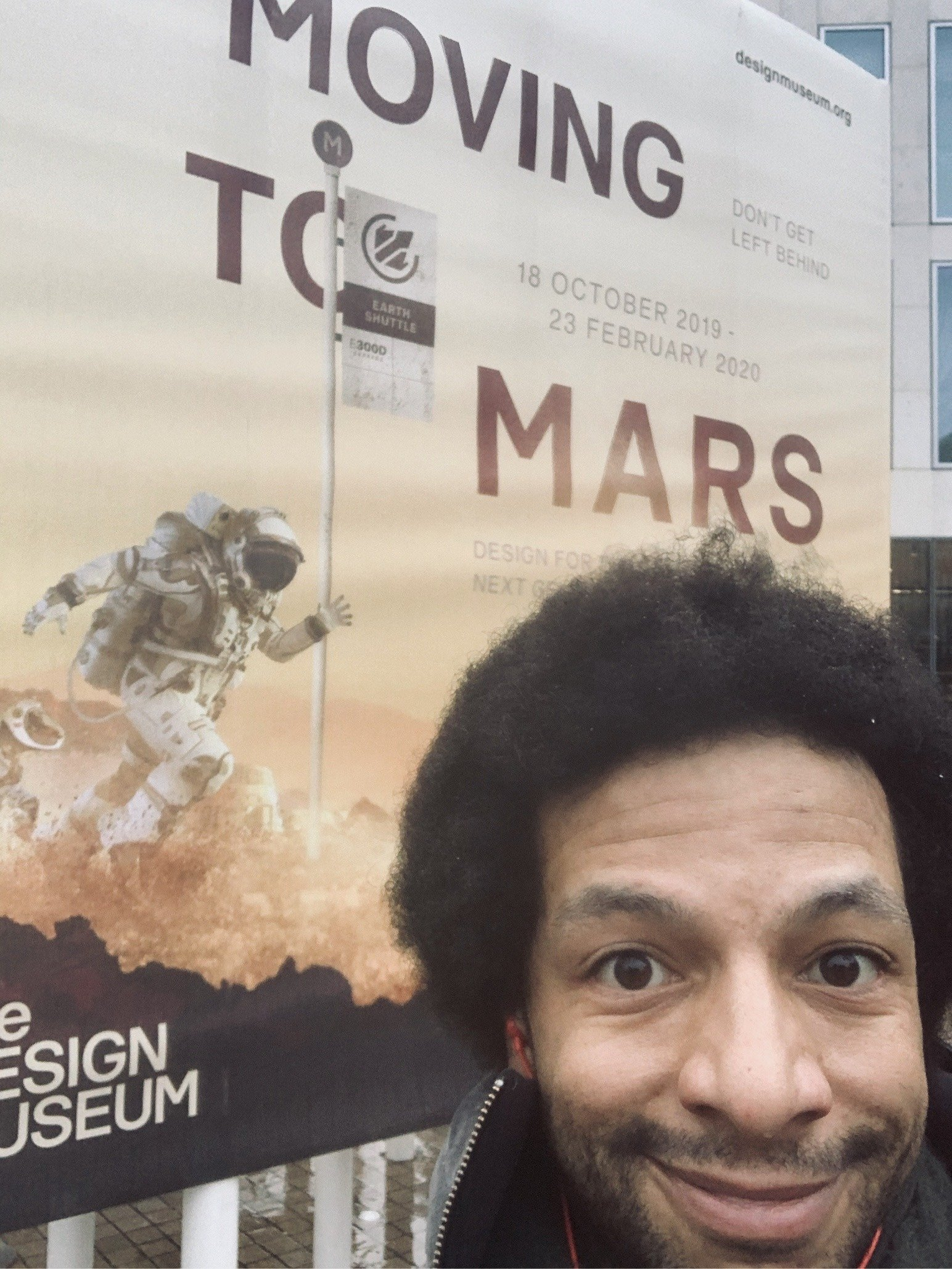 public space events moving to mars exhibition