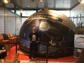 secondary school planetarium show