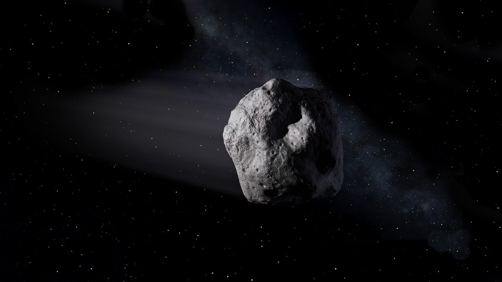 Asteroids are small rocky bodies