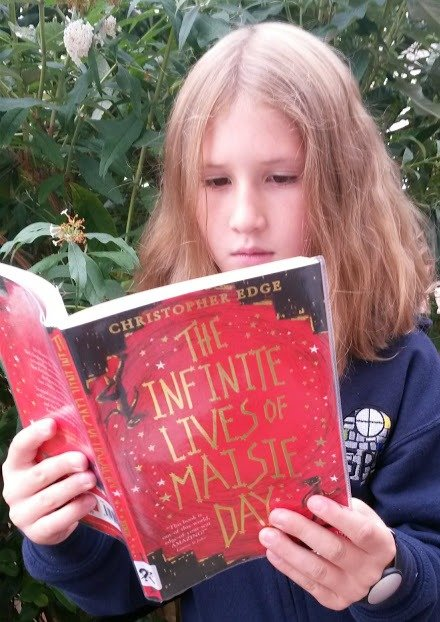 """Infinite lives of Maisie Day"" by Christopher Edge"