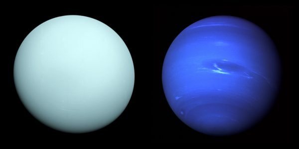 The ice giants Uranus and Neptune