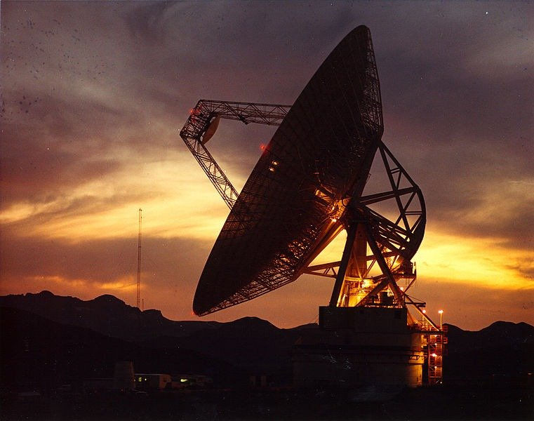 70m Deep Space Network at Goldstone, CA