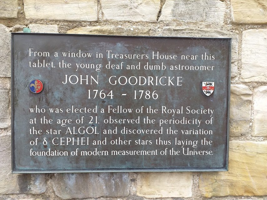 John Goodricke lived and worked in York