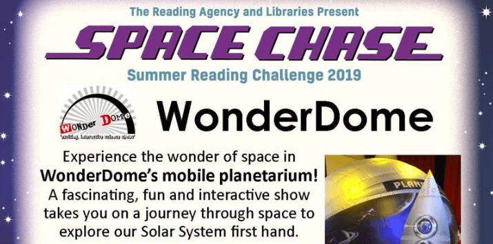 mobile planetarium surrey with wonderdome