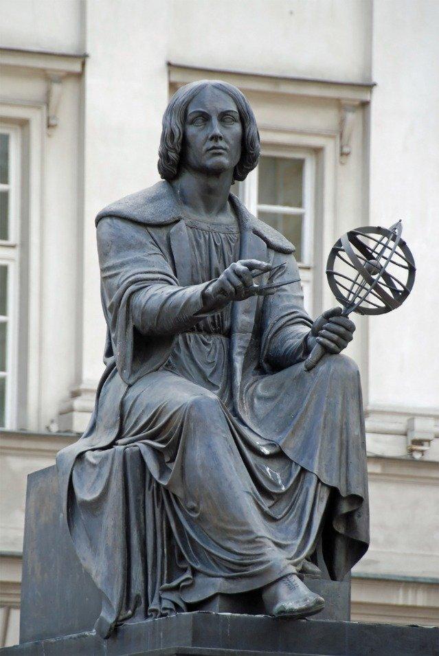 Copernicus was a famous astronomer