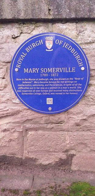 Mary Somerville was born in Jedburgh
