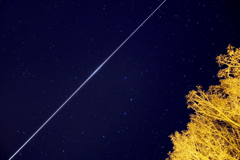 Satellite constellations are a threat for the ground-based Astronomy