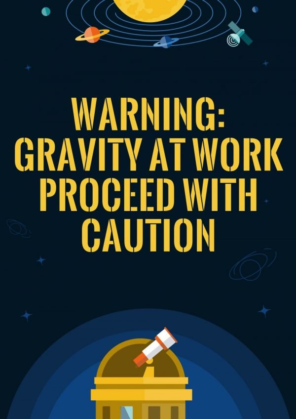 There is gravity in Space!