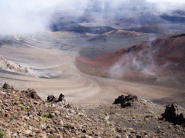 Mars-like landscape here on Earth