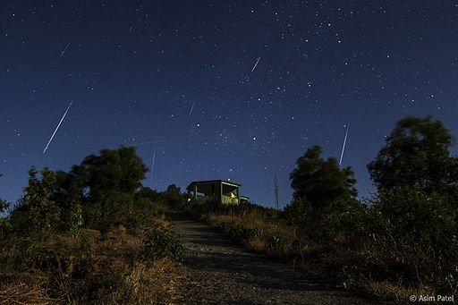 The Geminid Meteor Shower