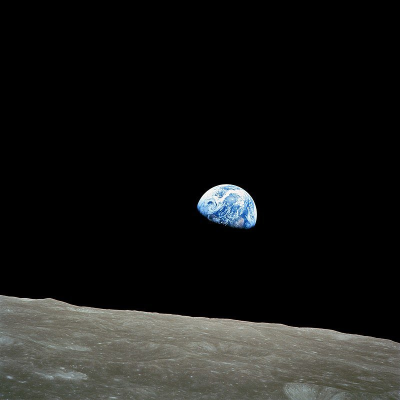 Iconic astro images: Earthrise
