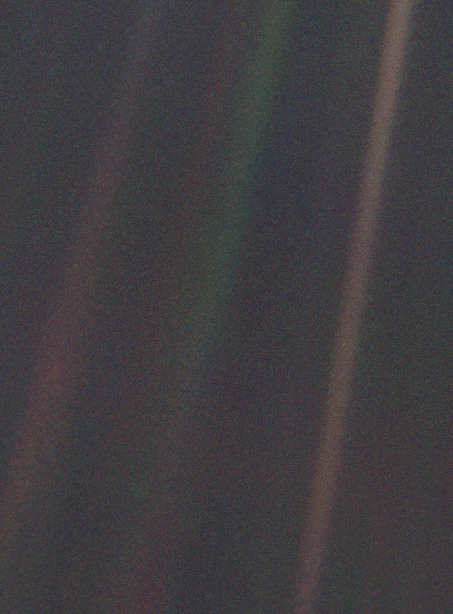 Iconic astro images: Pale Blue Dot
