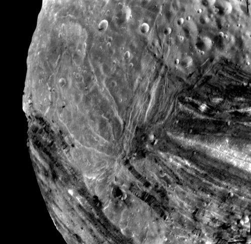 Uranus's moon Miranda